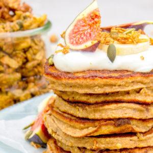 American Pancakes met gezonde ingredienten