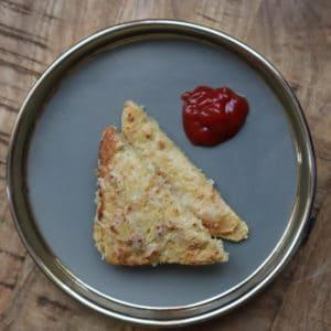Bloemkool tosti met Live Puri naturel eiwitpoeder