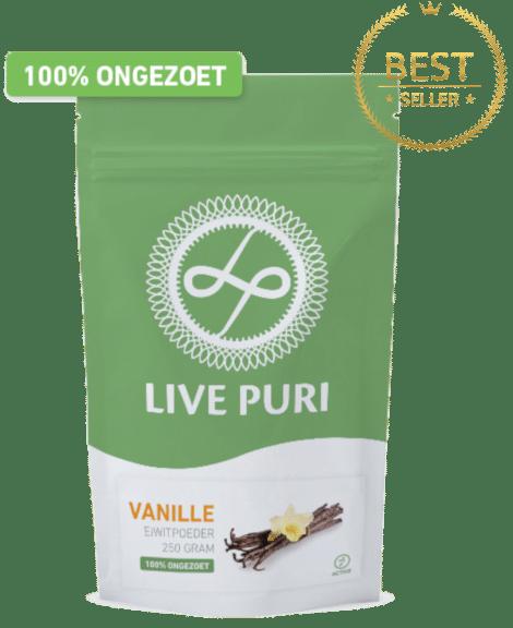 Eiwitpoeder Vanille ongezoet Live Puri bestseller