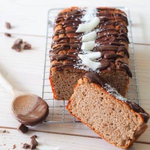Koolhydraatarme chocolade kokos cake Live Puri