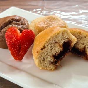 Koolhydraatarme cupcakes Live Puri