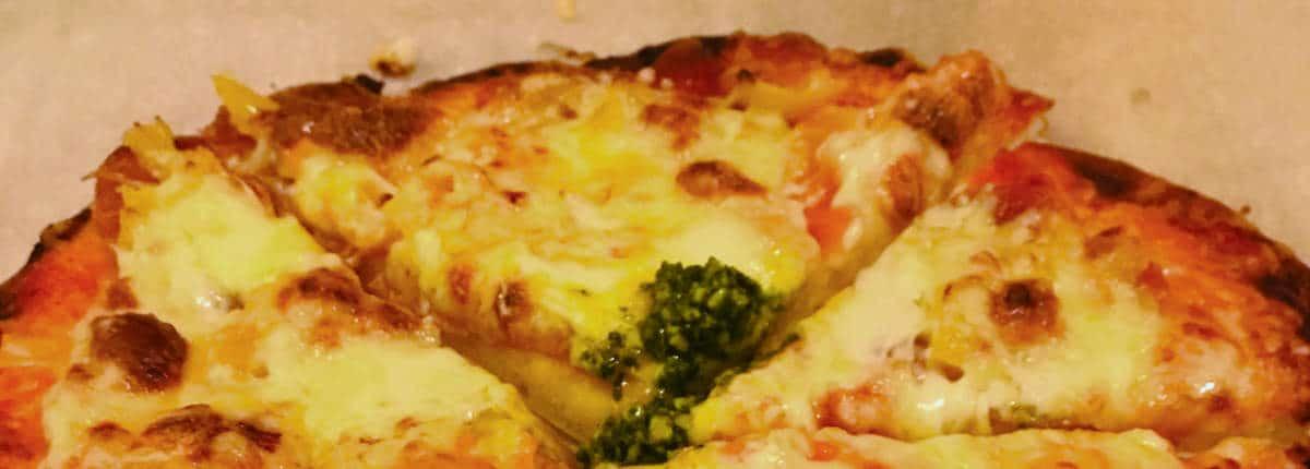 Koolhydraatbeperkte pizzabodem