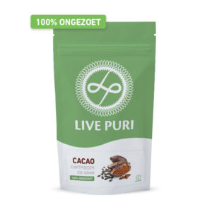 Chocolade eiwitpoeder ongezoet Live Puri