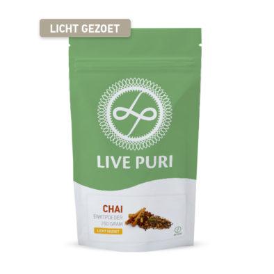 chai eiwitpoeder licht gezoet Live Puri