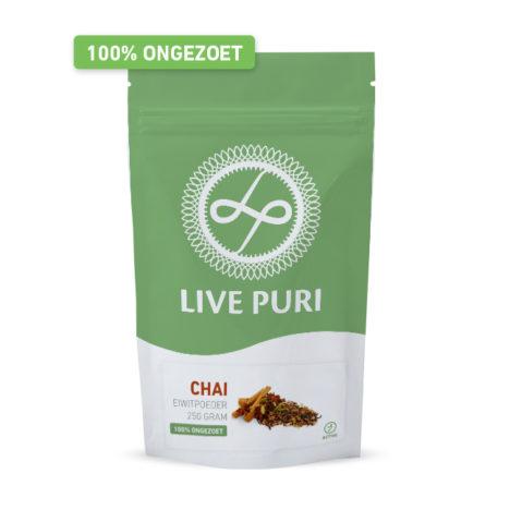 Chai eiwitpoeder ongezoet Live Puri