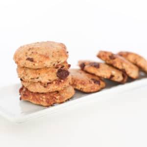 Live Puri chocolade banaan koekjes