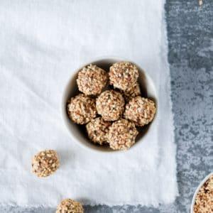 Live Puri crunchy bliss balls