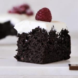 Live Puri gezonde brownies met zwarte bonen