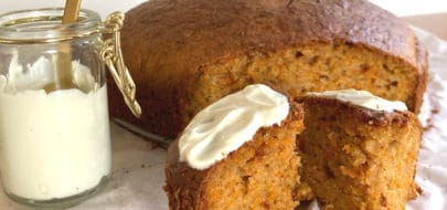 Live Puri gezonde carrotcake