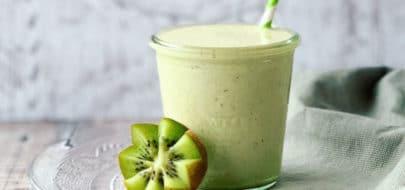 Live Puri groene kiwi avocado proteine smoothie