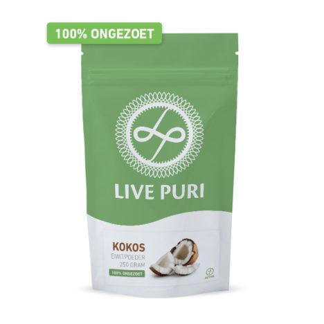Kokos eiwitpoeder ongezoet Live Puri