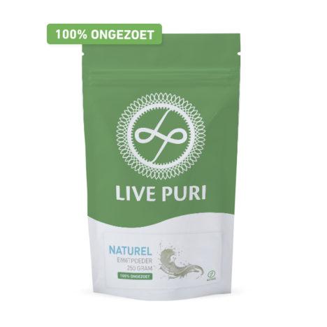 ongezoet naturel eiwitpoeder Live Puri
