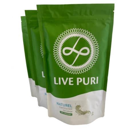 Live Puri naturel eiwitpoeder voordeelverpakking 750 gram