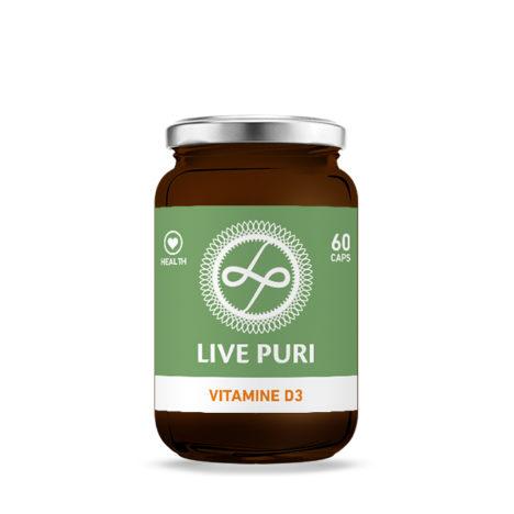 Vitamine D3 capsules Live Puri