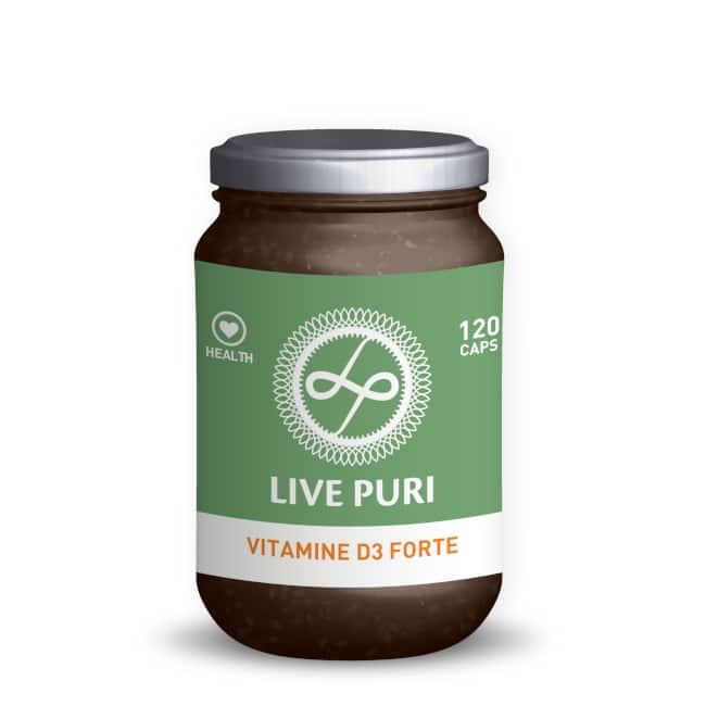 Live Puri vitamine D3 forte