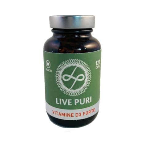Live Puri vitamine D3 forte 3000 IU