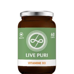 Live Puri Vitamine D3 capsules