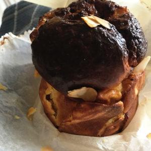 Koolhydraatarme muffins met 3 ingredients op bakpapier