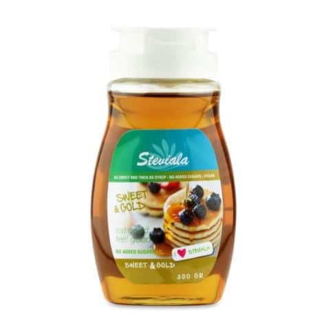 Natuurlijke suikervrije stroop Steviala sweet & gold