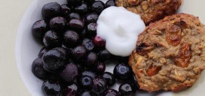 Vegan proteine ontbijtkoeken