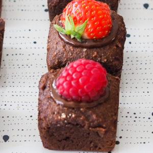 Chocolade zakjes met Live Puri eiwitpoeder