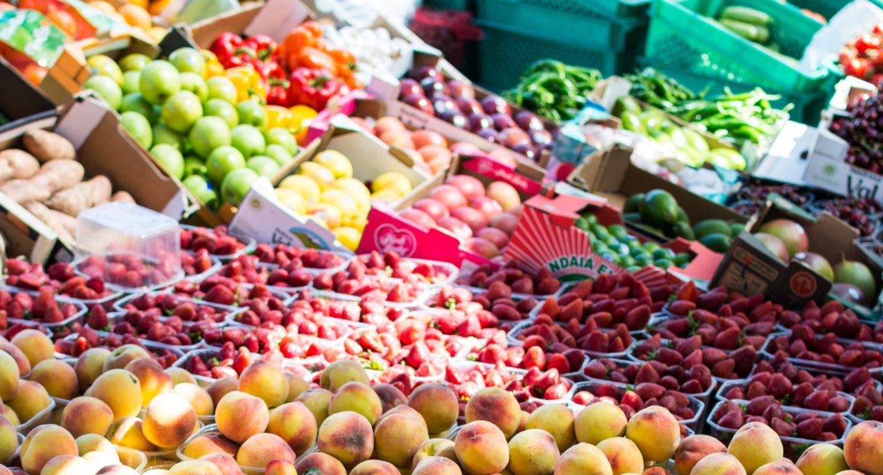 week zonder vlees groenten en fruit